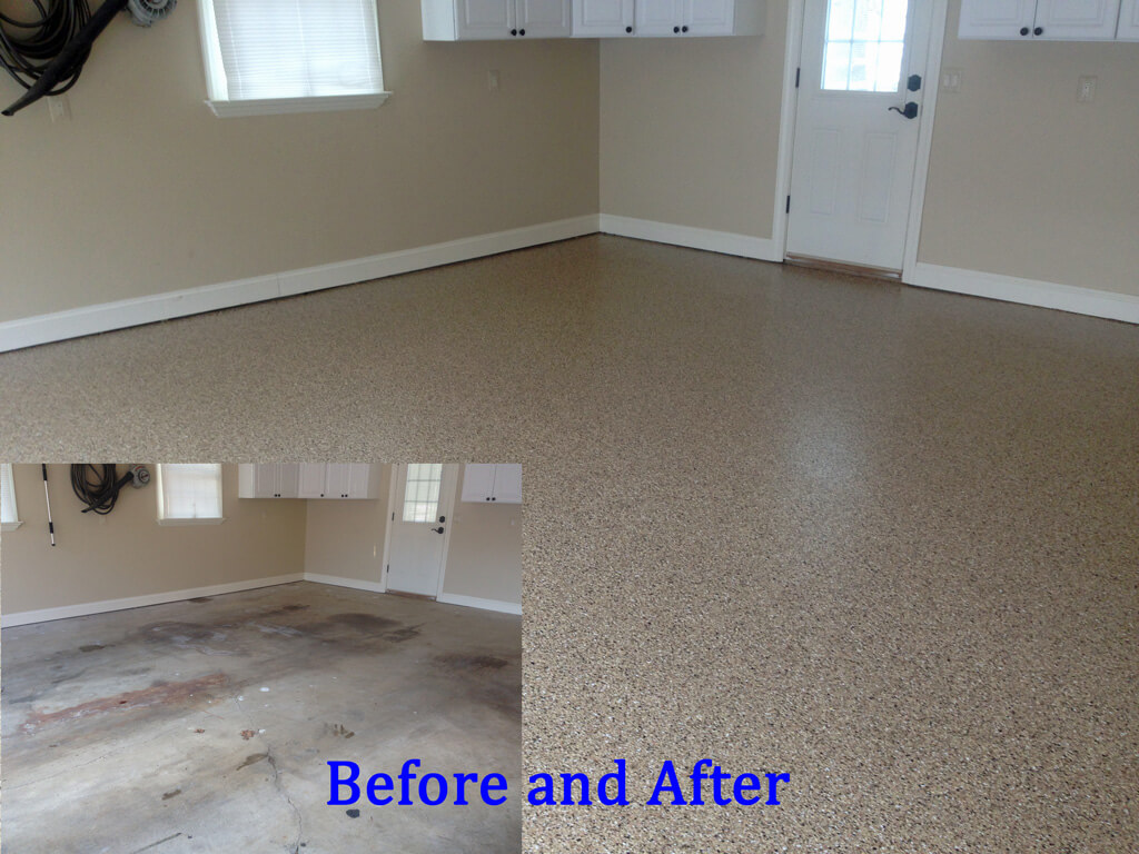 Garage Floors In Ellicott City Parkville And Columbia